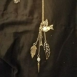 Jewelry - *Long Boho Necklace with Multiple Charms*